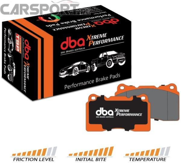 Klocki hamulcowe DBA Xtreme Performance Subaru Impreza MY99 / WRX 2001-2007 (Przód)
