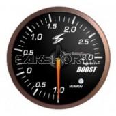 Wskaźnik ciśnienia doładowania 52mm 3 bary czarna tarcza