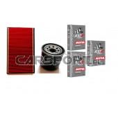 Pakiet olejowy Motul 5w40 Power 300V + filtry KNECHT