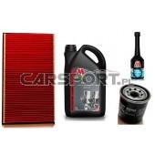 Pakiet olejowy Millers CFS 5w40 + filtry KNECHT + płukanka